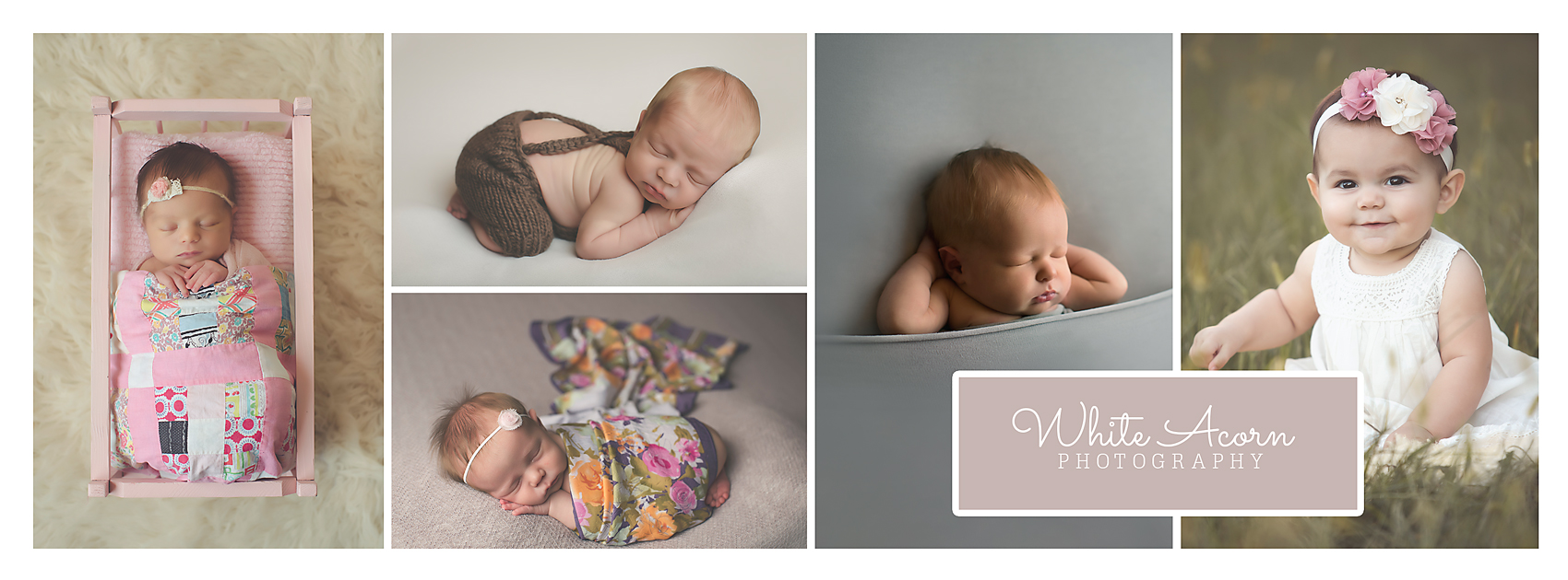 White Acorn Photography - Lincoln NE newborn baby photographer